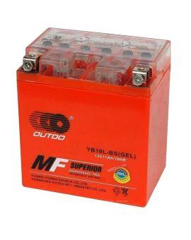 Аккумулятор 6MTC-11 Ас YB10L-BS Outdo 12V, Фото 1