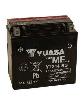 Аккумулятор 6MTC-12.6 Ас YTX14-BS Yuasa 12V, Фото 1