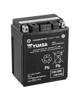 Акумулятор 6MTC-12.6 Ас YTX14AHL-BS  Yuasa 12V, Фото 1