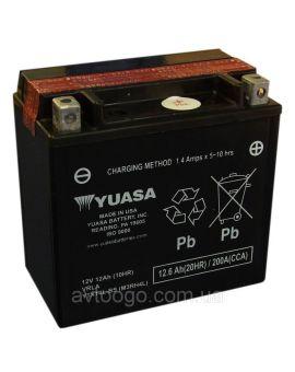 Аккумулятор 6MTC-12.6 Ас YTX14L-BS Yuasa 12V, Фото 1