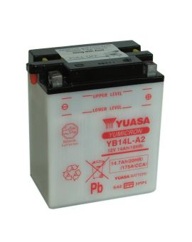 Аккумулятор 6MTC-14.7 Ас YB14L-A2 Yuasa 12V, Фото 1