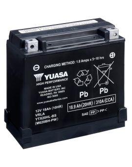 Аккумулятор 6MTC-18.9 Ас YTX20HL-BS Yuasa 12V, Фото 1