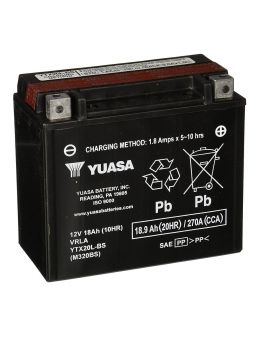 Акумулятор 6MTC-18.9 Ас YTX20L-BS Yuasa 12V, Фото 1