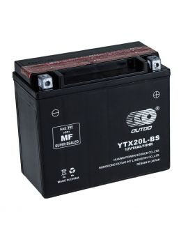 Аккумулятор 6MTC-18 Ас YTX20L-BS Outdo 12V, Фото 1