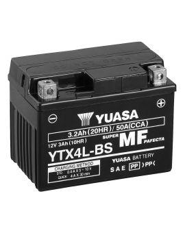 Акумулятор 6MTC-3 Ас YTX4L-BS Yuasa 12V, Фото 1