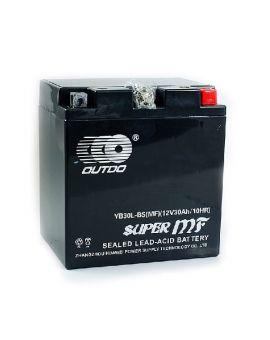 Аккумулятор 6MTC-30 Ас YB30L-BS MF Outdo 12V, Фото 1