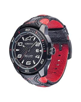 Часы Alpinestars Tech Watch 3H Leather black/red, Фото 1