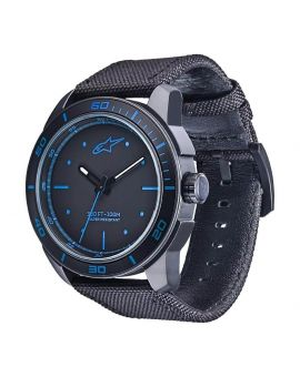 Часы Alpinestars Tech Watch 3H nylon strap black/blue, Фото 1