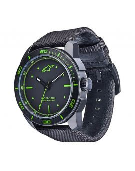Годинник Alpinestars Tech Watch 3H nylon strap black/green, Фото 1