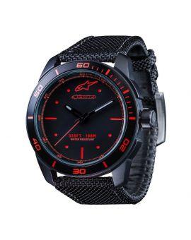 Годинник Alpinestars Tech Watch 3H nylon strap black/red, Фото 1