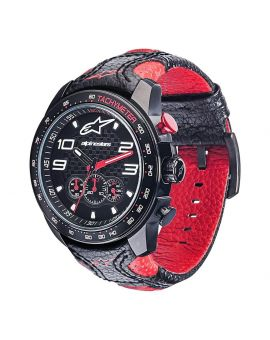 Годинник Alpinestars Tech Watch Chrono Leather black/red, Фото 1