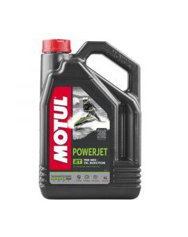 """Масло для гидроцикла Motul Powerjet для 2T двигателей """"4L"""", Фото 1"""