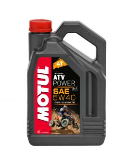"Масло для квадроциклов Motul ATV Power 4T 5W40 ""4L"", Фото 1"