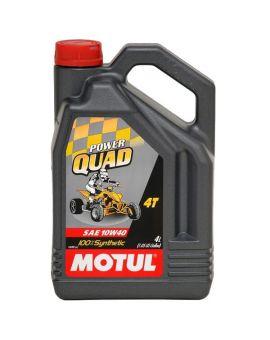 """Масло для квадроциклов Motul Powerquad 4T 10W40 """"4L"""", Фото 1"""