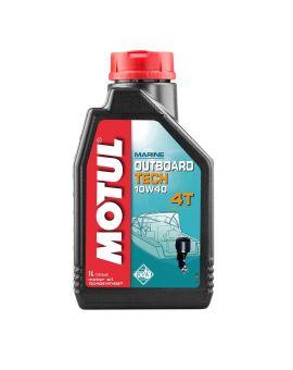 """Масло для моторів човнів Motul Outboard Tech 4T 10W40 """"1L"""", Фото 1"""