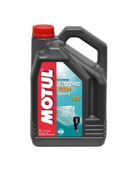 """Масло для моторів човнів Motul Outboard Tech 4T 10W40 """"5L"""", Фото 1"""