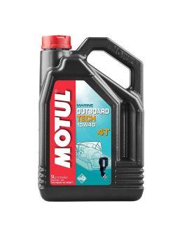 "Масло для лодочных моторов Motul Outboard Tech 4T 10W40 ""5L"", Фото 1"