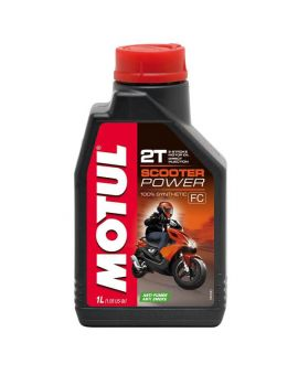 "Масло Motul Scooter Power 2T ""1L"", Фото 1"