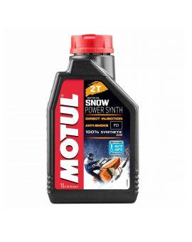 """Масло для снегоходов Motul Snowpower для 2T двигателей """"1L"""", Фото 1"""
