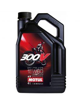 """Масло Motul 300V 4T Factory line Off Road 15W60 """"4L"""", Фото 1"""