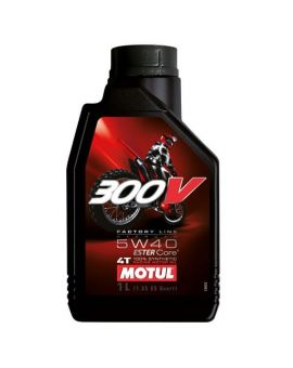 "Масло моторное Motul 300V 4T Factory line Off Road 5W40 ""1L"", Фото 1"