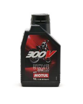 """Масло Motul 300V 4T Factory line Off Road 5W40 """"1L"""", Фото 1"""