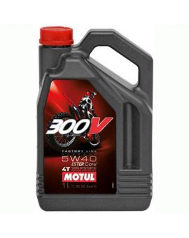 "Масло Motul 300V 4T Factory line Off Road 5W40 ""4L"", Фото 1"