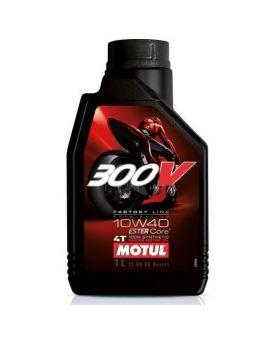 """Масло моторное Motul 300V 4T Factory line Road 10W40 """"1L"""", Фото 1"""