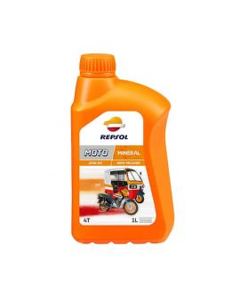 "Масло Repsol Moto High Mileage 4T 25W60 ""1L"", Фото 1"