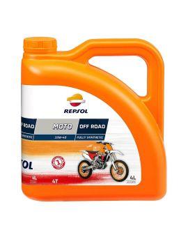 "Масло Repsol Moto Off-Road 4T 10W40 ""4L"", Фото 1"