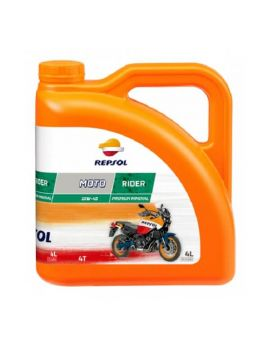 "Масло Repsol Moto Rider 4T 10W40 ""4L"", Фото 1"