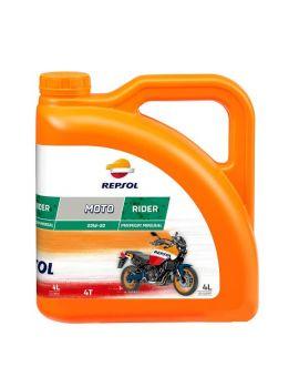 "Масло Repsol Moto Rider 4T 20W50 ""4L"", Фото 1"