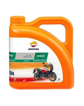 "Масло моторное Repsol Moto Rider 4T 20W50 ""4L"", Фото 1"