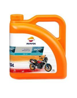 "Масло Repsol Moto Sport 4T 10W40 ""4L"", Фото 1"