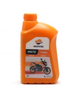 "Масло Repsol Moto Town 4T 20W50 ""1L"", Фото 1"