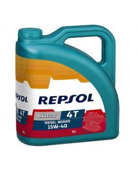 "Масло Repsol Nautico Diesel Board 4T 15W40 ""4L"", Фото 1"