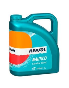 """Масло моторное Repsol Nautico Gasol Board 4T 10W40  """"4L"""", Фото 1"""