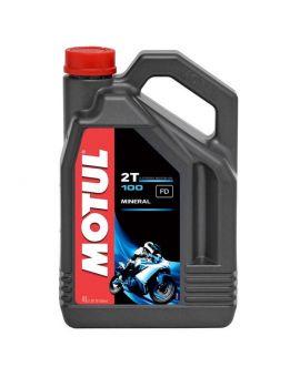 """Масло Motul 100 для 2T двигателей """"4L"""", Фото 1"""