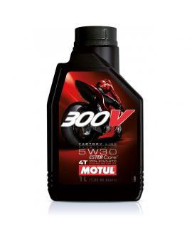 "Масло Motul 300V 4T Factory line Road Racing 5W30 ""1L"", Фото 1"