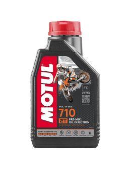"""Масло Motul 710 для 2T двигателей """"1L"""", Фото 1"""