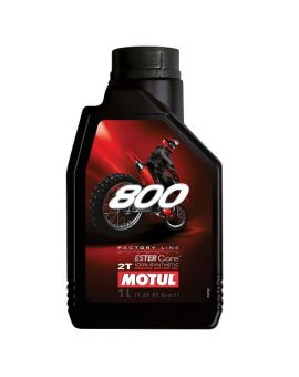 "Масло Motul 800 Factory Line Off Road для 2T двигателей ""1L"", Фото 1"