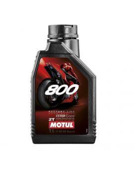 """Масло Motul 800 Factory Line Road Racing для 2T двигателей """"1L"""", Фото 1"""