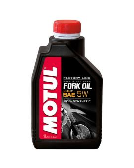 "Масло вилочне Motul Fork Oil Light Factory Line 5W ""1L"", Фото 1"