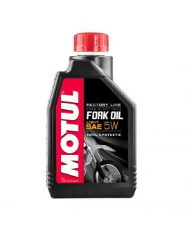 "Масло вилочное Motul Fork Oil Light Factory Line 5W ""1L"", Фото 1"