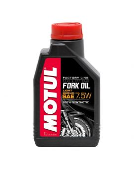 "Масло вилочне Motul Fork Oil Light/Medium Factory Line 7.5W ""1L"", Фото 1"