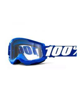 Окуляри для кросу 100% Strata 2 Goggle Blue clear lens, Фото 1
