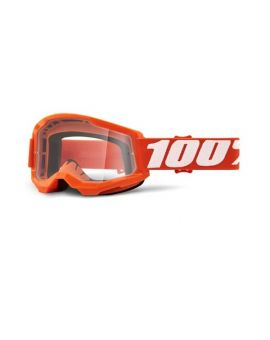 Окуляри для кросу 100% Strata 2 Goggle Orange clear lens, Фото 1