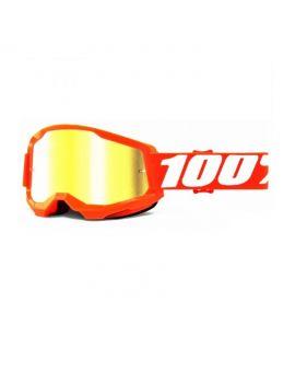 Окуляри для кросу 100% Strata 2 Goggle Orange mirror gold lens, Фото 1