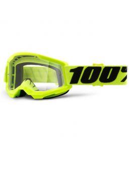 Окуляри для кросу 100% Strata 2 Goggle Yellow clear lens, Фото 1
