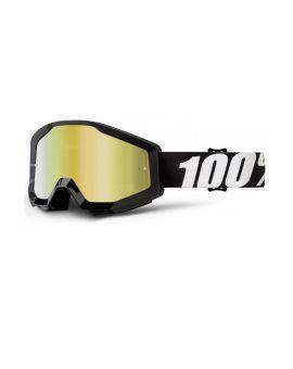 Окуляри для кросу 100% Strata Goggle Outlaw mirror gold lens, Фото 1